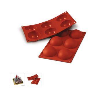 Stampo silicone semisfere cm. 7