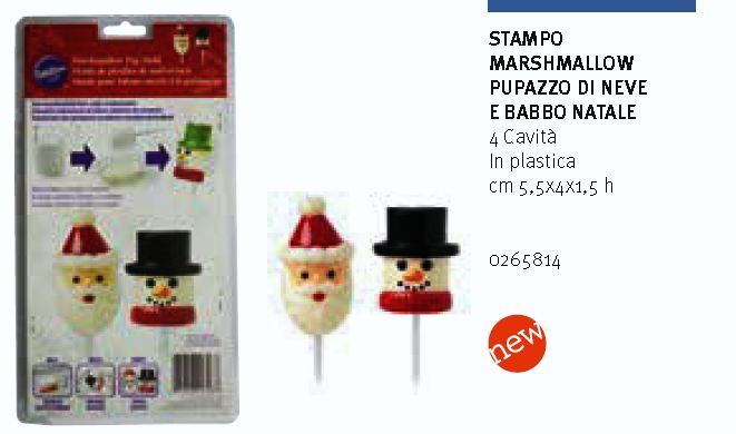 Stampo marshmallow Natale