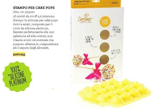 Stampo per cake pops 18 forme