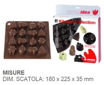 Decorazioni Natalizie X Dolci.Stampo Per Cioccolatini Natale