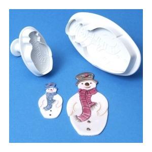 Stampo espulsione pupazzo di neve