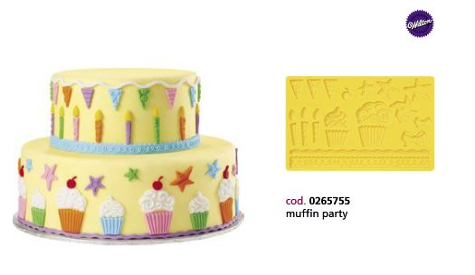 Stampo in silicone muffin