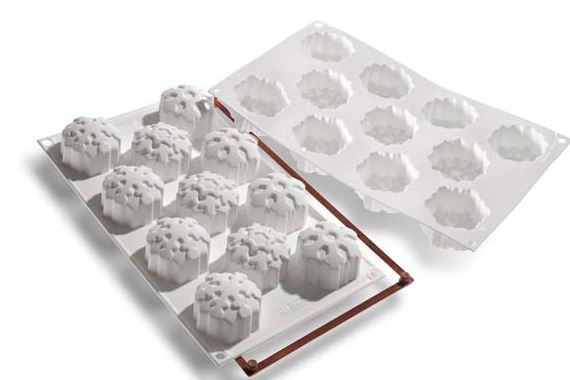 Stampo in silicone fiocchi di neve