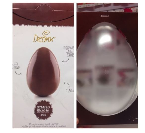 Stampo uova 350 gr.