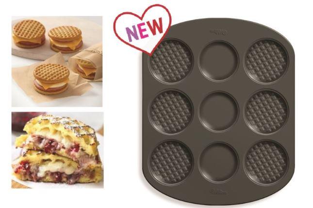 Stampo waffle/sandwich