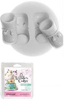 Sugarflex baby shoes Silikomart