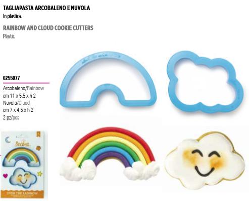 Tagliapasta arcobaleno e nuvola