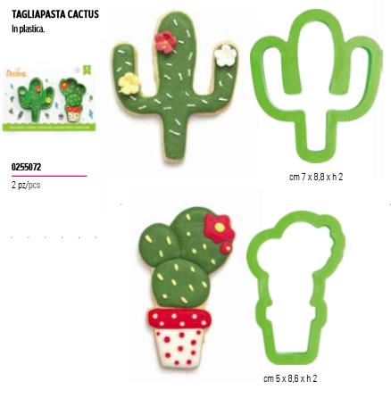 Tagliapasta cactus in plastica