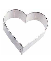 Tagliapasta cuore in metallo