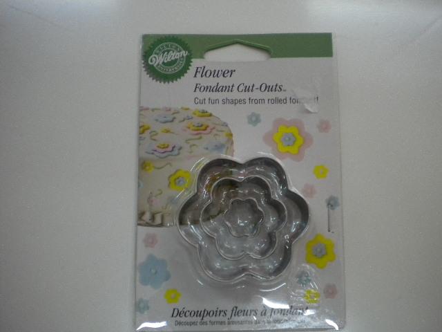 Tagliapasta fiore set 3 pezzi