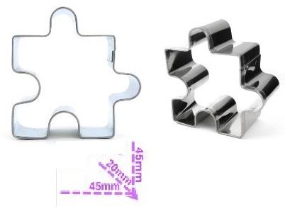 Tagliapasta forma puzzle