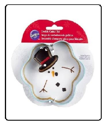 Tagliapasta pupazzo di neve con cappello