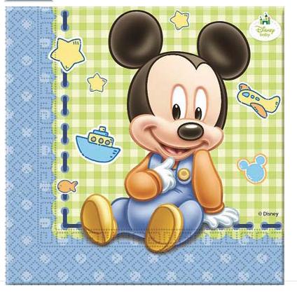 Tovaglioli Baby Mickey
