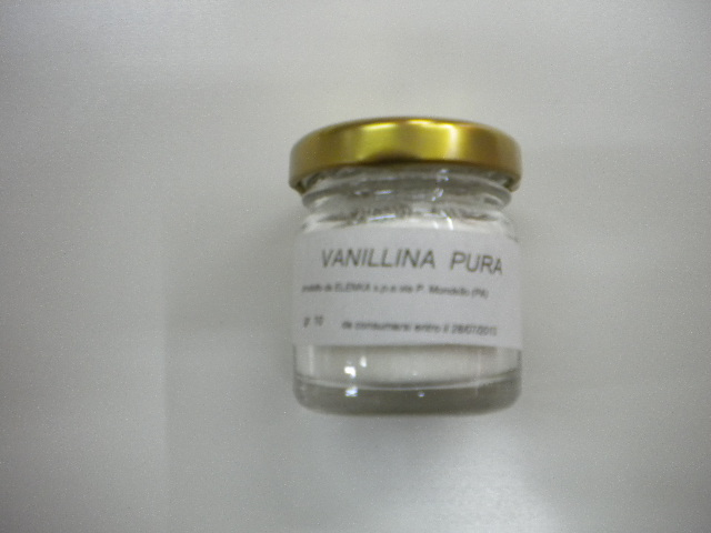 Vanillina pura in polvere