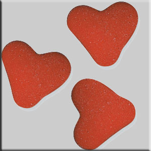 Zuccherini cuore rosso